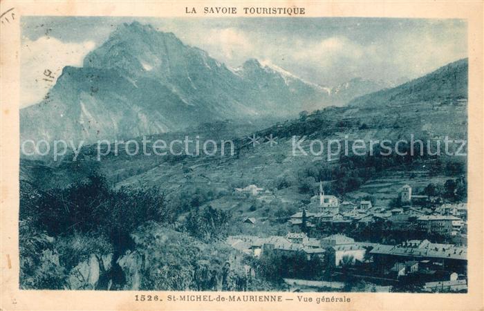 AK / Ansichtskarte Saint Michel de Maurienne Vue generale Alpes Saint Michel de Maurienne
