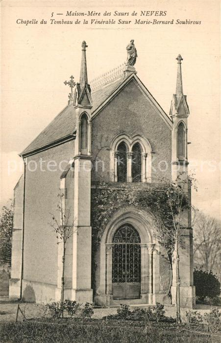 AK / Ansichtskarte Nevers_Nievre Chapelle du Tombeau de la Venerable Soeur Marie Bernard Soubirous Nevers Nievre