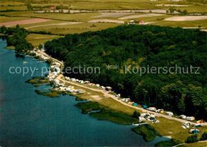 AK / Ansichtskarte Bistensee Campingplatz Fliegeraufnahme  Bistensee