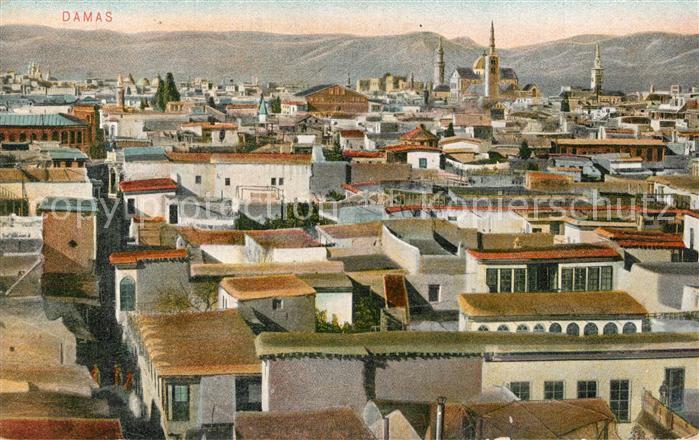 AK / Ansichtskarte Damaskus_Damas_Syria Panorama Damaskus_Damas_Syria