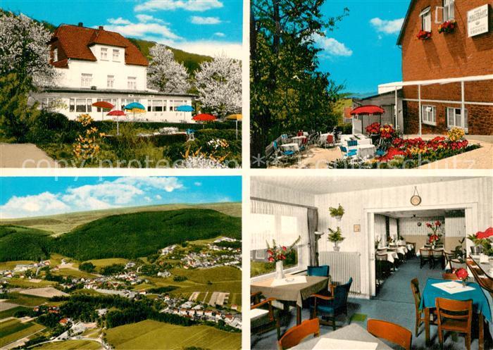 AK / Ansichtskarte Todenmann Waldgasthaus Pension Cafe Haus Waltraut Todenmann