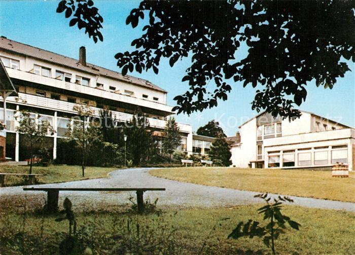 AK / Ansichtskarte Bad_Rothenfelde Evangelisches Erholungsheim Waldstrasse Bad_Rothenfelde