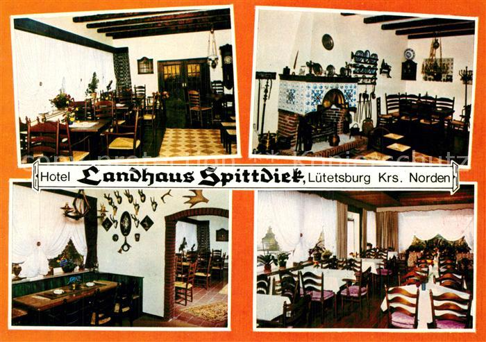 AK / Ansichtskarte Luetetsburg Landhaus Spittdiek Luetetsburg