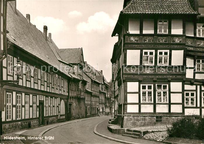 AK / Ansichtskarte Hildesheim Hinterer Bruehl Hildesheim
