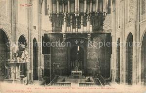 AK / Ansichtskarte Albi_Tarn Interieur de l Eglise Sainte Cecile Orgues et Maitre Autel Albi_Tarn