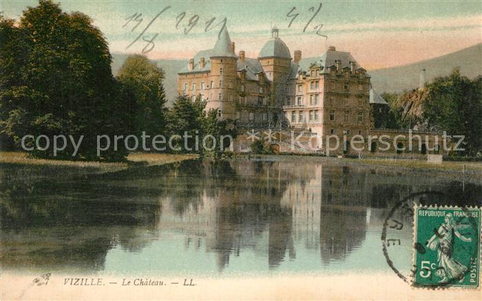 AK / Ansichtskarte Vizille Chateau Schloss Vizille