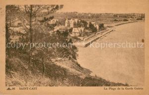 AK / Ansichtskarte Saint Cast le Guildo La plage de la Garde Guerin Saint Cast le Guildo