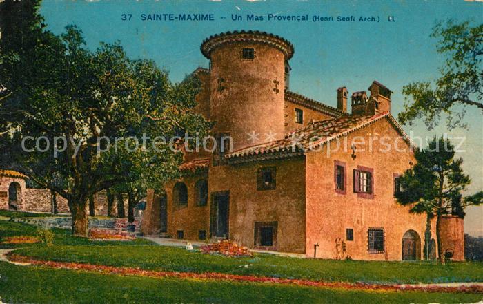 AK / Ansichtskarte Sainte_Maxime_sur_Mer_Var Un Mas Provencal Sainte_Maxime_sur_Mer_Var