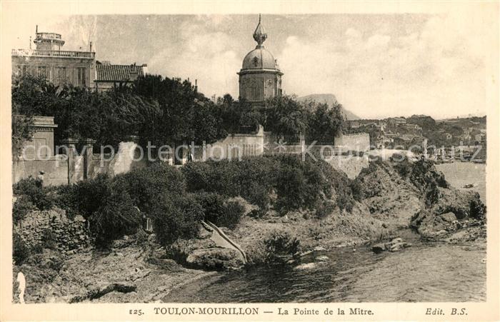 AK / Ansichtskarte Mourillon La Pointe de la Mitre Eglise Mourillon