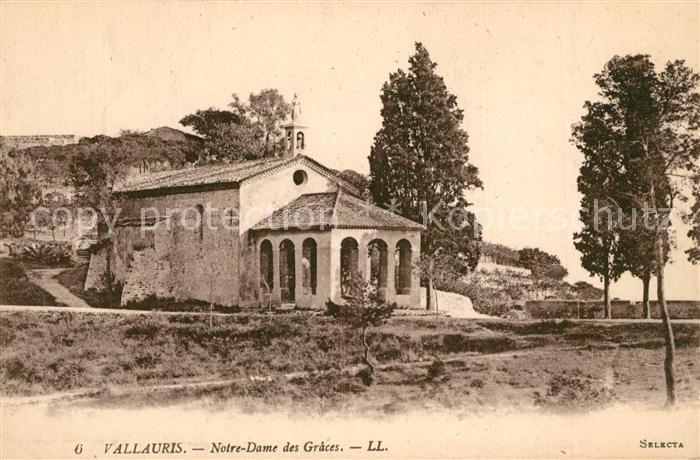 AK / Ansichtskarte Vallauris Chapelle Notre Dame des Graces Vallauris