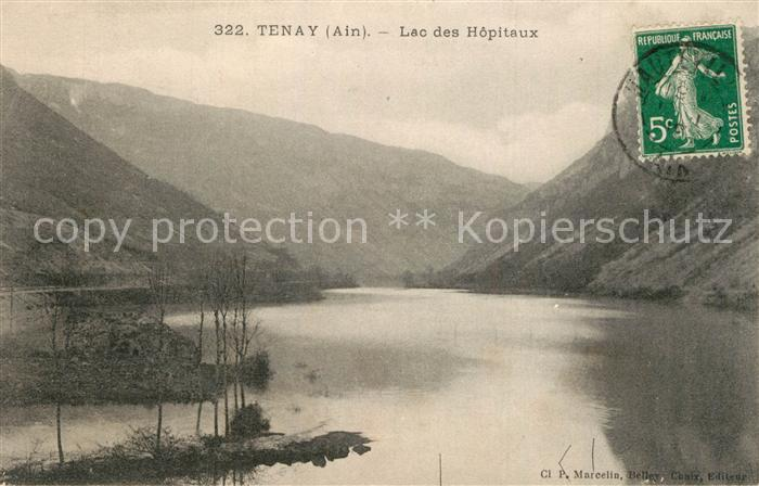 AK / Ansichtskarte Tenay Lac des Hopitaux Tenay