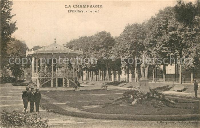 AK / Ansichtskarte Epernay_Marne Le Jard Pavillon Monument Epernay Marne