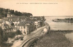 AK / Ansichtskarte Saint Jean de Luz Ciboure Entree du Port  Saint Jean de Luz