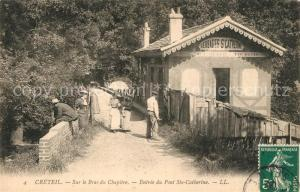 AK / Ansichtskarte Creteil Bras du Chapitre Pont Ste Catherine Creteil