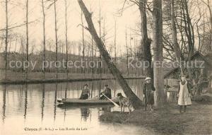 AK / Ansichtskarte Cloyes sur le Loir Loir Ruderboot Cloyes sur le Loir