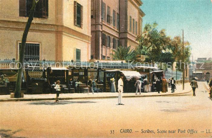 AK / Ansichtskarte Cairo_Egypt Post Office Cairo Egypt