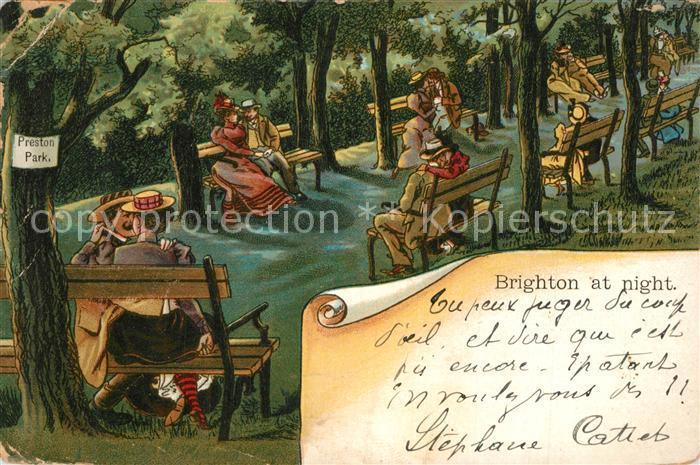 AK / Ansichtskarte Brighton_ Preston Park Brighton_