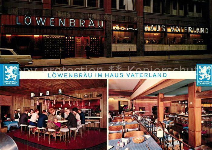 AK / Ansichtskarte Hamburg Loewenbraeu im Haus Vaterland Restaurant Hamburg