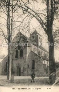 AK / Ansichtskarte Champigny sur Marne Eglise Kirche Champigny sur Marne