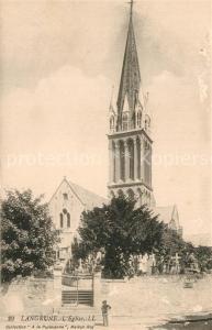 AK / Ansichtskarte Langrune sur Mer Eglise Kirche Langrune sur Mer