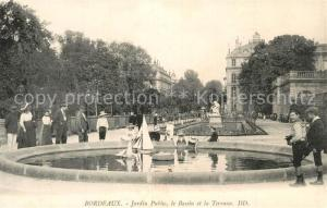 AK / Ansichtskarte La_Souterraine Eglise et jardin public ...
