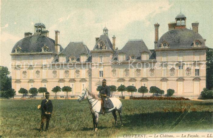 AK / Ansichtskarte Cheverny Chateau Facade Chevalier Cheverny