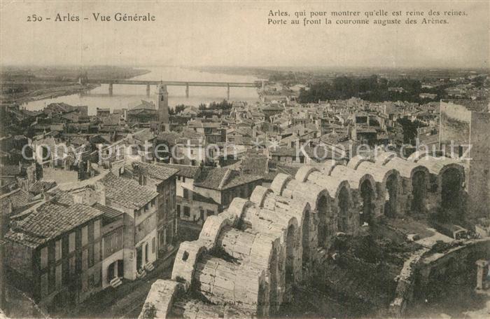 AK / Ansichtskarte Arles_Bouches du Rhone Vue generale Arles_Bouches du Rhone