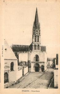 AK / Ansichtskarte Etampes Eglise Notre Dame Etampes