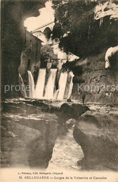 AK / Ansichtskarte Bellegarde sur Valserine Gorges de la Valserine et Cascades Bellegarde sur Valserine