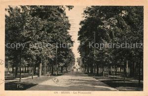 AK / Ansichtskarte Reims_Champagne_Ardenne Les Promenades Reims_Champagne_Ardenne