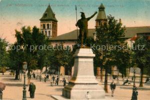 AK / Ansichtskarte Bordeaux Allees Damour Statue de Vercingetorix Monument Bordeaux