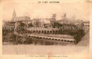 AK / Ansichtskarte Lisle sur Tarn Palais sur le Tarn Lisle sur Tarn