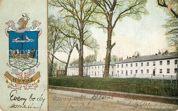 AK / Ansichtskarte Hythe_Kent School of Musketry Hythe_Kent