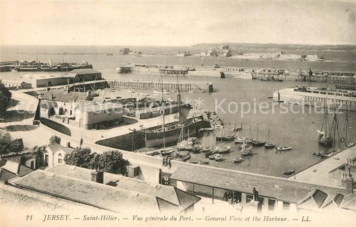 AK / Ansichtskarte Jersey_Kanalinsel Port Hafen