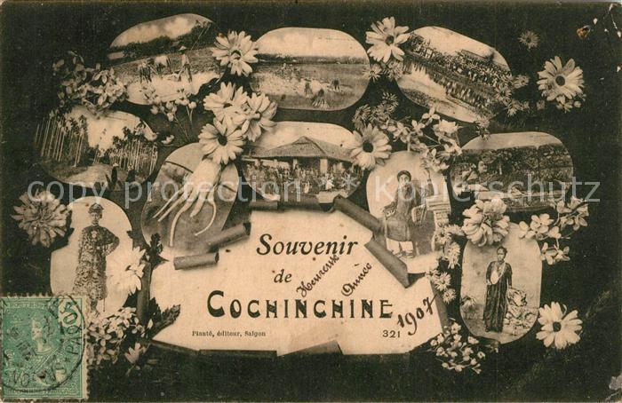 AK / Ansichtskarte Cochinchine_Vietnam Sehenswuerdigkeiten Cochinchine Vietnam