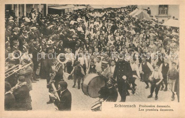 AK / Ansichtskarte Echternach Procession dansante Echternach