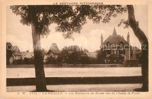 AK / Ansichtskarte Lamballe Batiments du Haras Champ de Foire  Lamballe