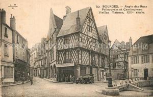 AK / Ansichtskarte Bourges Angle des Rues Pellevoysin et Cambournac  Bourges