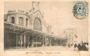 AK / Ansichtskarte Boulogne sur Mer Gare Centrale Boulogne sur Mer