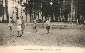 AK / Ansichtskarte Criel sur Mer Colonie Scolaire le Parc Criel sur Mer