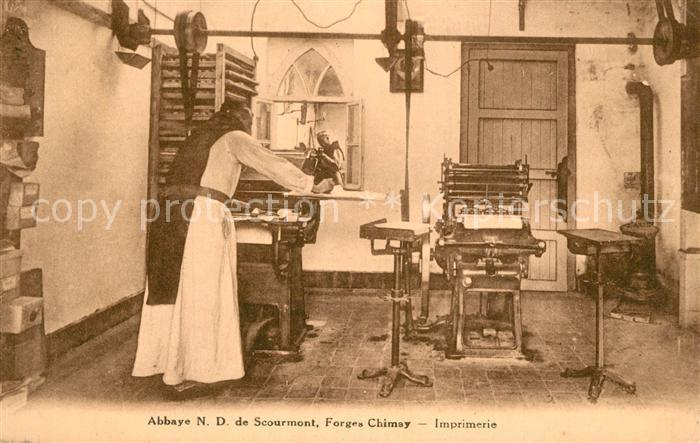 AK / Ansichtskarte Scourmont Abbaye Forges Chimay Scourmont