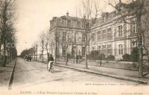 AK / Ansichtskarte Illiers Combray Ecole Primaire Superieure Avenue de la Gare Illiers Combray