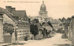 AK / Ansichtskarte Bouere Entree du Bourg Route de Saint Denis Bouere
