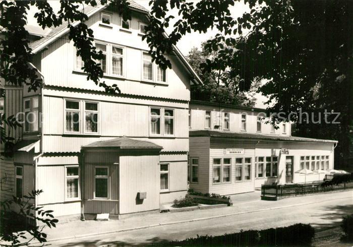 AK / Ansichtskarte Elend_Harz FDGB Erholungsheim Donbass Elend_Harz