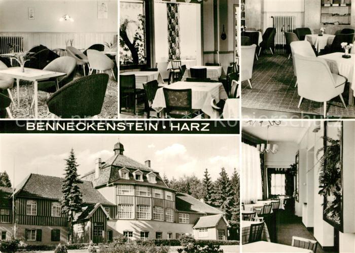 AK / Ansichtskarte Benneckenstein_Harz FDGB Erholungsheim Harzhaus Benneckenstein_Harz