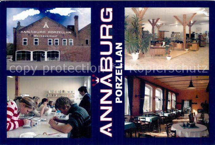 AK / Ansichtskarte Annaburg Porzellan Manufaktur Restaurant Annaburg