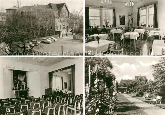 AK / Ansichtskarte Schoenebeck_Salzelmen Julius Schniewind Haus Saal Gartenanlage Schoenebeck Salzelmen