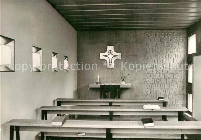 AK / Ansichtskarte Schoenebeck_Salzelmen Julius Schniewind Haus Gebetskapelle Schoenebeck Salzelmen