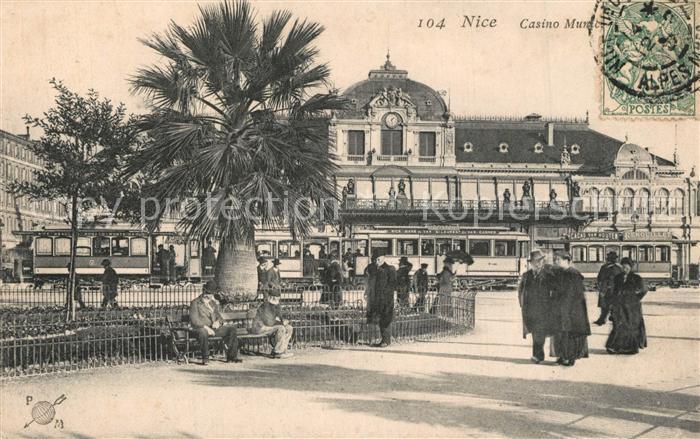 AK / Ansichtskarte Nice_Alpes_Maritimes Casino Nice_Alpes_Maritimes