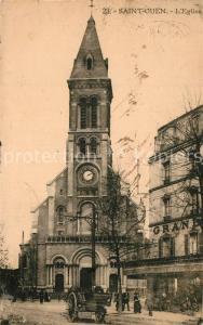 AK / Ansichtskarte Saint Ouen_Seine Saint Denis Eglise Saint Ouen